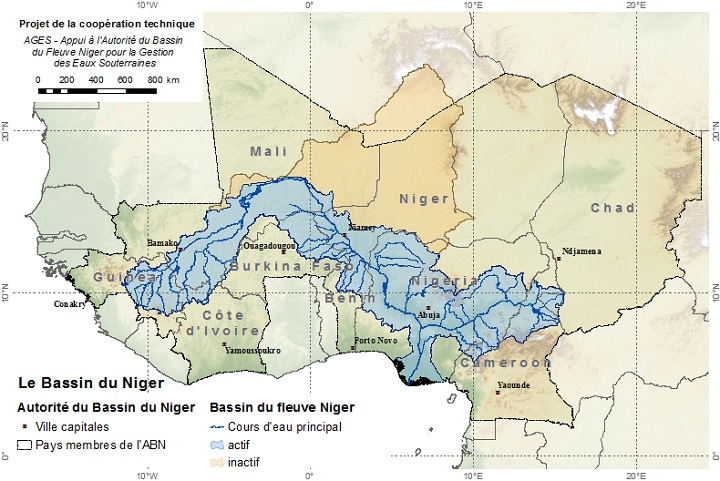 BGR - Grundwasserressourcen-Management - Niger River Basin